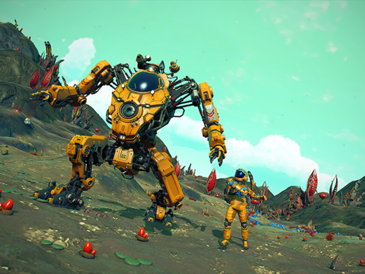 What S New In The No Man S Sky Update 2 4 Exo Mech